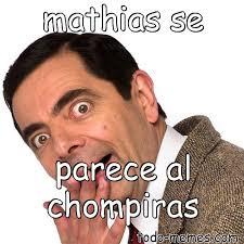 Memes Del Chompiras - arraymeme de mathias se parece al chompiras