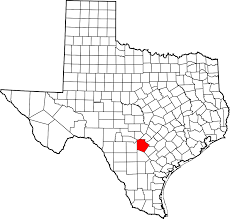 Tx Counties Map File Map Of Texas Highlighting Bexar County Svg Wikimedia Commons