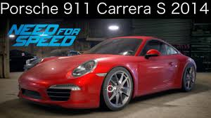 porsche carrera 2014 nfs 2015 porsche 911 carrera s 2014 customization test drive