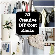 cool coat rack 23 clever diy coat rack ideas for your home cool crafts