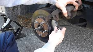 how to change ford brake pads youtube