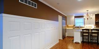 kitchen wainscoting ideas beautiful wainscoting in kitchen and heritage raised panels