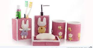 Hummingbird Bathroom Accessories by 15 Chic Pink Bathroom Accessories Set Pink Bathroom Accessories