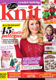 let u0027s knit issue 98 christmas 2015 by letsknitmag issuu