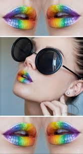 Cool Makeup Designs Best 25 Rainbow Makeup Ideas On Pinterest Rainbow Eye Makeup