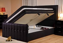 Upholstered Ottoman Storage Bed by Ottoman Breathtaking Stylesparkle Fabricbed Black Sd Open Fabric