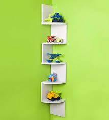 wall shelves pepperfry decornation corner wall shelf unit zigzag shape from pepperfry rs