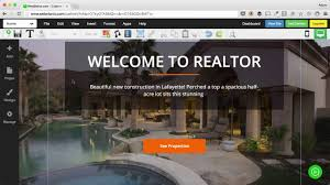 Real Estate Template Websites by How To Customize A Real Estate Website Template Youtube
