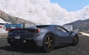 ferrari 488 convertible ferrari 488 gts add on replace tuning gta5 mods com