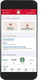 mobile and online banking features from bank of america