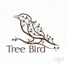 sold logo tree bird stocklogos