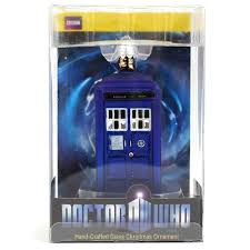 kurt adler doctor who doctor who glass tardis ornament