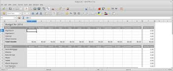 Open Office Spreadsheet Free Office Suites That Cut The Mustard Linux Links The Linux