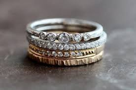 stackable diamond rings stacking diamond rings wedding promise diamond engagement