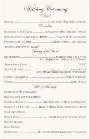 christian wedding program template beautiful christian wedding ceremony order gallery styles