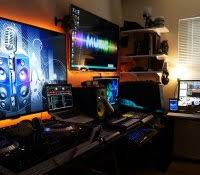 Gaming Home Decor Gaming Setup Pc Console Ideas Home Decor Cheap Best Man Cave And