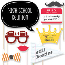 class reunion photo booth props kit 20 count walmart com