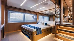 Yacht Bedroom by Riva 88 U0027 Florida Photo Gallery Luxury Yacht