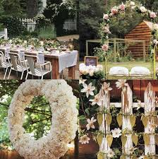 Affordable Chic Outdoor Decor Ideas by Attractive Wedding Garden Decoration Ideas 15 Cheap Wedding