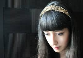 jeweled headbands d i y jeweled headband the yesstylist asian fashion