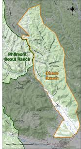 philmont scout ranch map ranch map