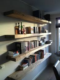 creative homemade bookshelves with the unique decoration