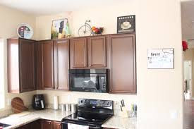 space above kitchen cabinets interesting decorating above