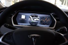 tesla model 3 elon musk assures fans the tesla model 3 u0027s dashboard is just fine