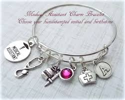 Personalized Gift Ideas by Medical Assistant Bracelet Gift For Medical Assistant