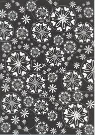 decorative paper black white heart a4 decorative paper pda card craft