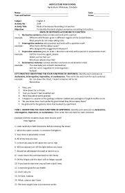 Declarative And Interrogative Sentences Worksheets 44 Kinds Of Sentences According To Function