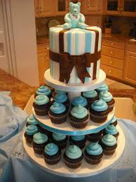 baby shower cakes baby shower cupcake cake ideas boy