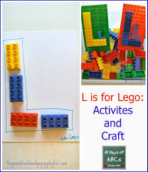 the letter l is for lego craft and activities fspdt