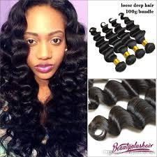 cheap 3 bundles style loose deep wave brazilian virgin hair