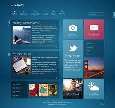 modern web design 93 best ux tile based design images on web layout