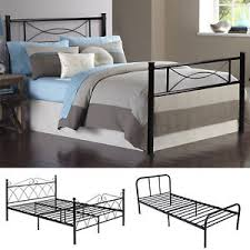 Platform Metal Bed Frame Platform Metal Bed Frame Foundation Headboard Furniture Bedroom