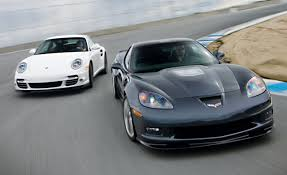 2010 chevrolet corvette zr1 vs 2010 porsche 911 turbo