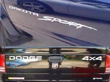 dodge dakota sport decals dodge dakota decals ebay