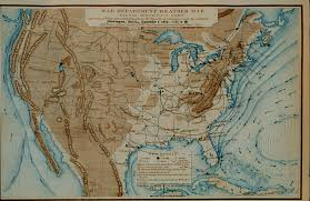 Usa Weather Map by File Us Weather Map From 1872 Jpg Wikimedia Commons