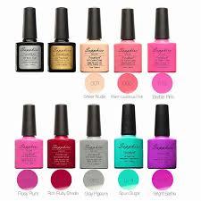 sapphire cutex nail polish base coat uv gel polish nail glue