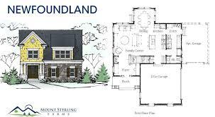floor plans for log cabins home plans newfoundland mount sterling farms home floor plans log