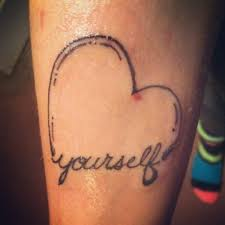 love yourself tattoo designs pictures to pin on pinterest tattooskid