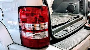 red jeep liberty 2012 how to replace brake light on 2008 2012 jeep liberty youtube