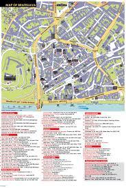 Slovakia Map Bratislava Tourist Map Bratislava Slovakia U2022 Mappery