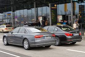 bmw 740 vs lexus ls 460 bmw 730d vs audi a8 3 0 tdi youtube