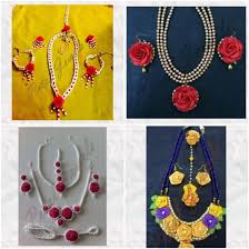 flower jewellery floral jewelry for your wedding celebrations petal jewels ub news