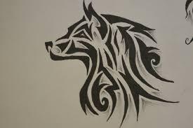 tribal wolf design tattoos designs ideas wolves