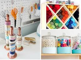 Organizatoin Hacks 19 Craft Room Organization Hacks You Need To See She Tried What