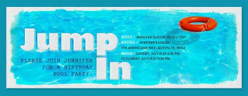 pool party bbqs beach 4th of july invitations evite com