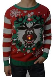 rudolph sweater sweater boy s rudolph led light up sweater